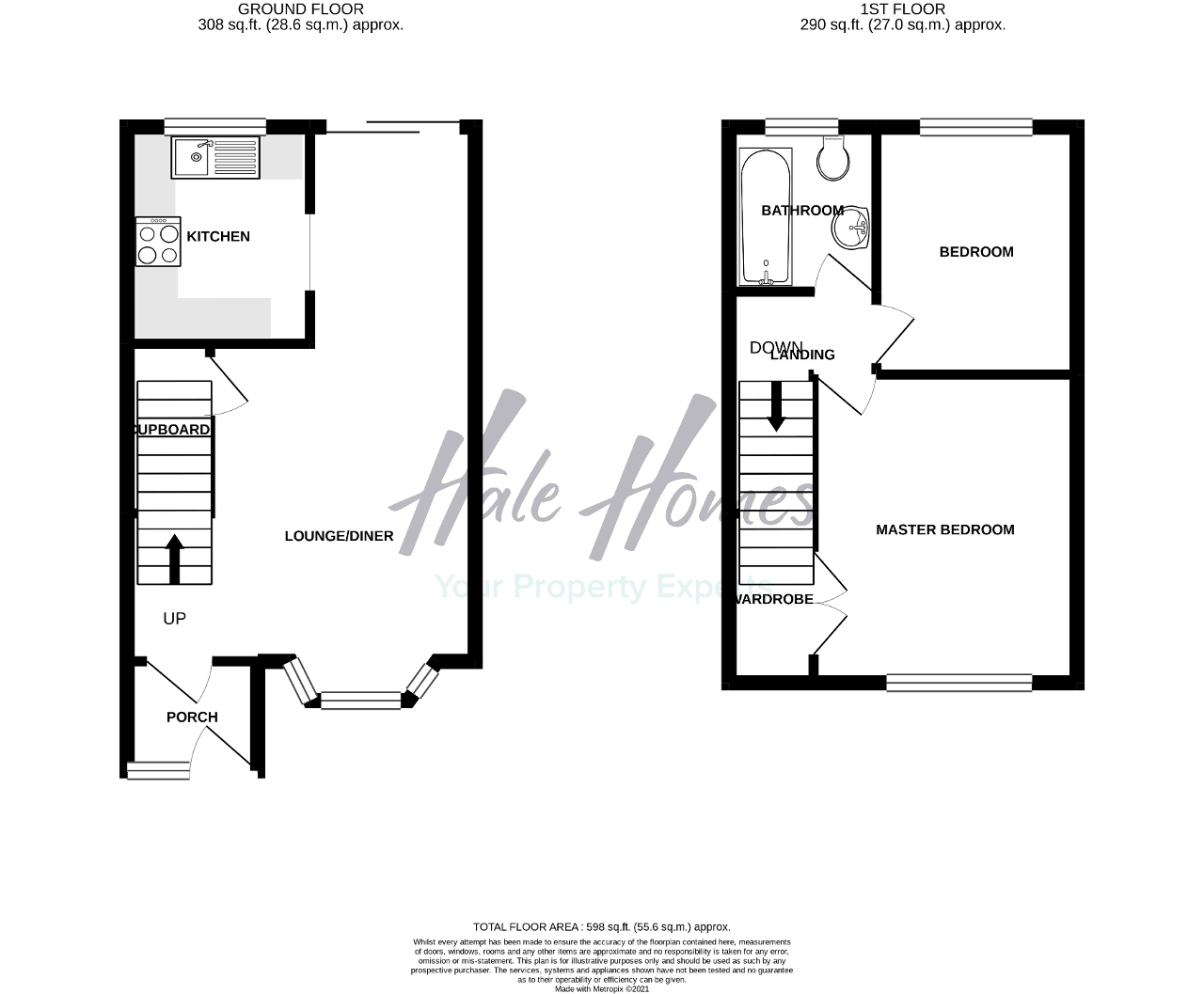 Floorplan of Barford Drive, Wilmslow, Cheshire, SK9 2GB