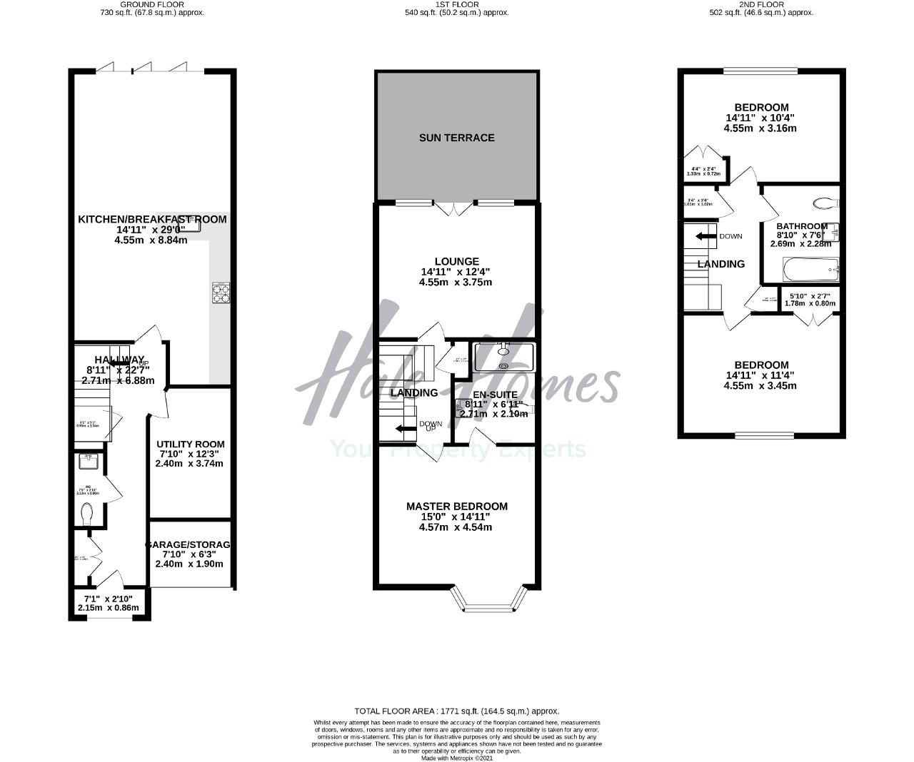 Floorplan of Regency Court, Hale, Cheshire, WA15 8RF
