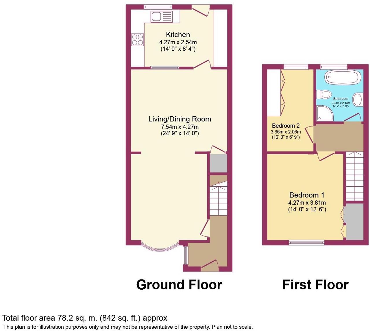 Floorplan of Grove Lane, Hale, Cheshire, WA15 8JQ