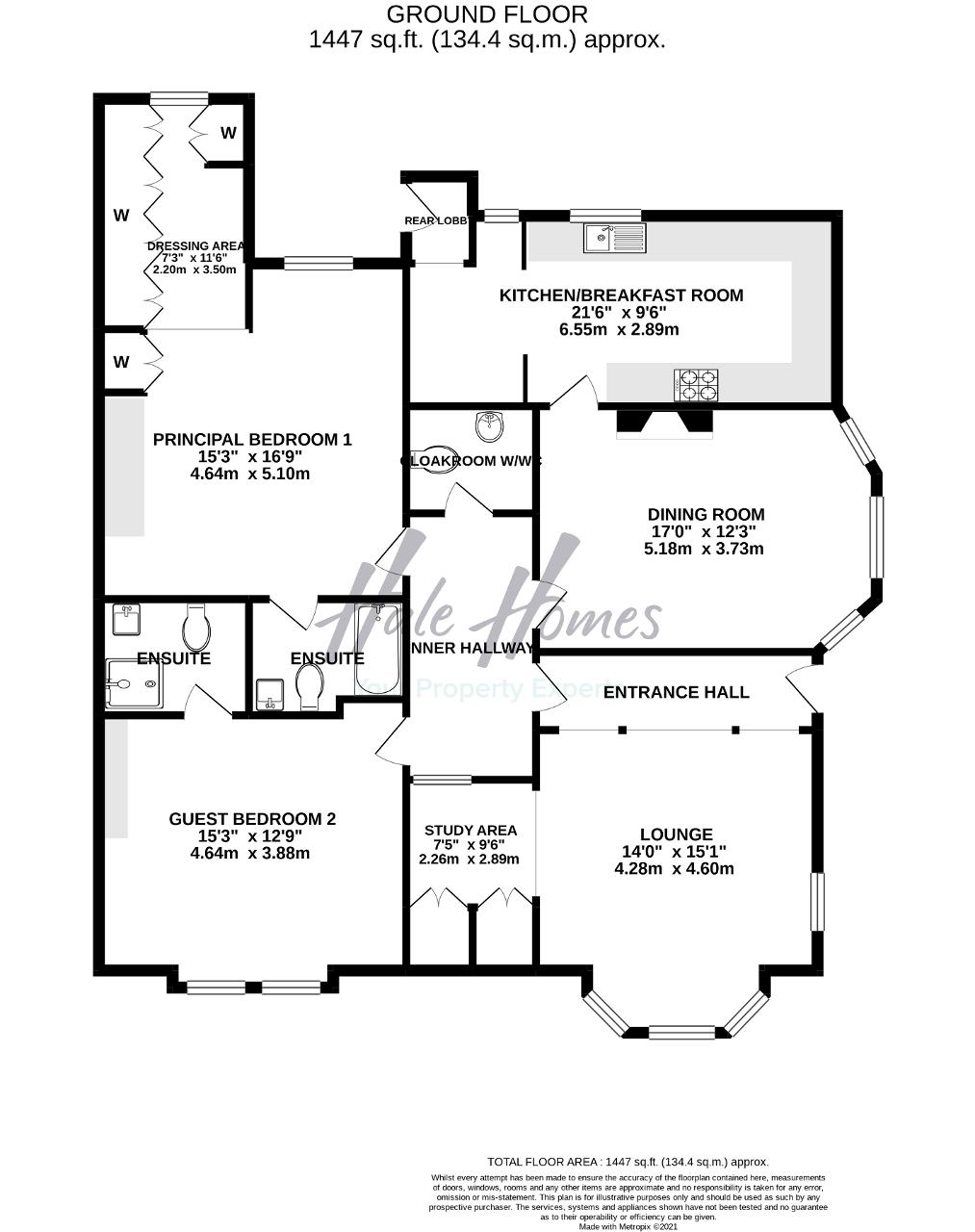 Floorplan of Heald Lawn, Heald Road, Bowdon, Cheshire, WA14 2JD
